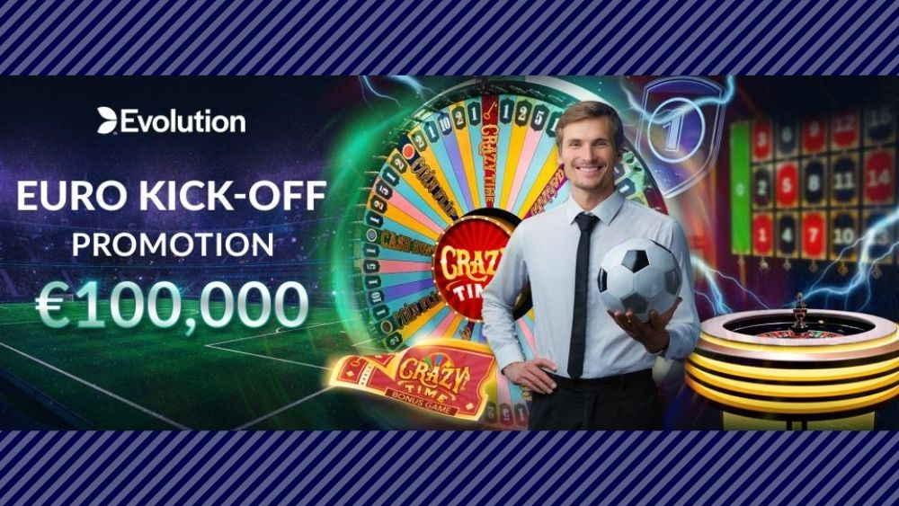 ラッキーチカ報告!Evolution社のライブゲームキャンペーン【Euro Kick-Off】